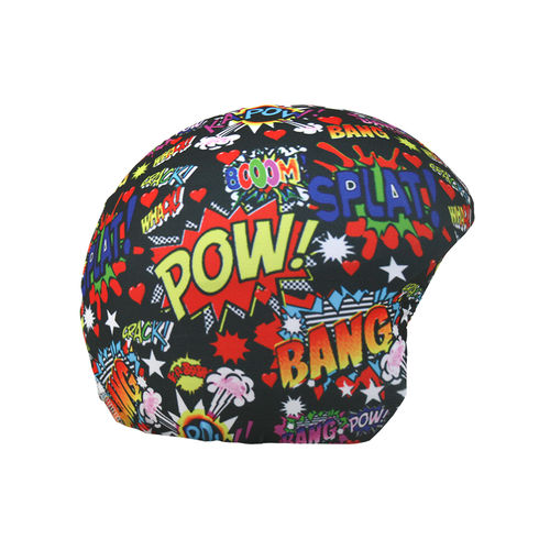 Boom print helm cover